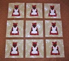 Aunt jemima quilt blocks