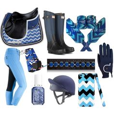 If only I could buy a new saddle pad, nail polish, and phone case to match my breeches.