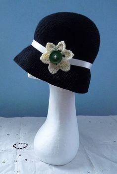 ao with <3 / Free Crochet Twenties Hat Pattern