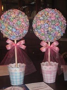 Candyland centerpieces