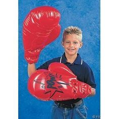 Fun Express Single Pair Giant Jumbo Inflatable Boxing Gloves Toy Single Pair - Novelty Item Measures X Knock your opponent of their feet to take the title! Inflatable Boxing Gloves, Rhode Island Novelty, Mick Foley, Sports Games For Kids, Sports Clips, After Prom, Boxing Fight, Fun Express, Jackie Robinson