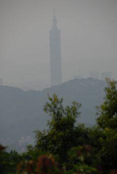 Taipei 101 from Maokong Taipei 101, Willis Tower, Taiwan, China, Pictures, Travel, Photos, Viajes, Destinations