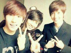 Maknae line.. boyfriend jo twins and min woo