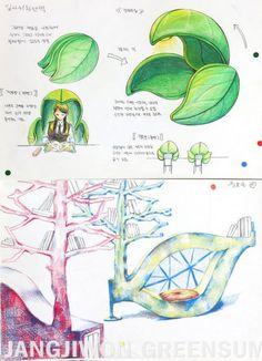 Concept Board Architecture, Landscape Architecture Design, Architecture Drawing Sketchbooks, Industrial Design Sketch, Ulsan, Environmental Design, Sketch Design, Presentation Design, Design Reference