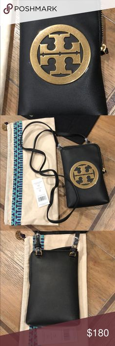 c1d70440f1c Tory Burch Charlie Mini Phone Crossbody 🔥 SOLD OUT! Absolutely beautiful!  Description STYLE 52863
