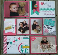 Pinner said: My first Stampin' Up! Project Life page. How fun to create pocket scrapbook pages with Project Life! Project Life Scrapbook, Project Life Album, Project Life Layouts, Project Life Cards, Scrapbook Journal, Baby Scrapbook, Scrapbook Paper Crafts, Journal Cards, Scrapbook Cards