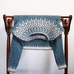 Ravelry: Project Gallery for Telja pattern by Jennifer Steingass Fair Isle Knitting, Hand Knitting, Vintage Knitting, Textiles, Knitting Patterns, Crochet Patterns, Stitch Patterns, Icelandic Sweaters, I Cord