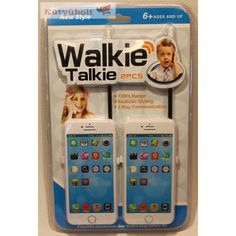 WALKIE TALKIE ELEMES CK568152 Walkie Talkie, Talk To Me, Frame, Tractor, Picture Frame, Frames