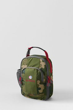 School Uniform Camo Print ClassMate® Soft Sided Lunch Box from Lands' End