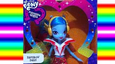 Rainbow Dash Oyuncak Bebek ❤ My Little Pony Equestria Girls Rainbow Rock...