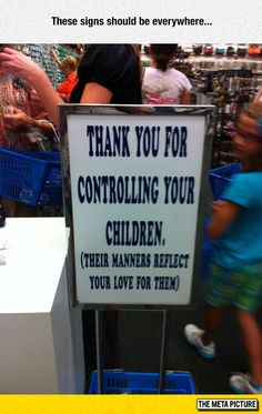 Your Kid's Manners
