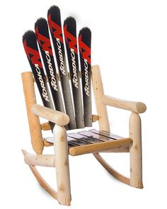 Ski rocker.  You can get the used sporting good you need to create this cool DIY project at Safari Thrift in Aurora CO.