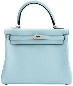 53f505cb1c07 Kelly leather handbag. Nikki DeFay