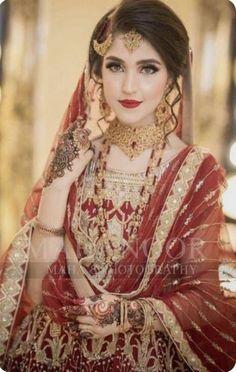 My beautiful fair light creamy white skin om sri sai ram Pakistani Bridal Hairstyles, Pakistani Wedding Outfits, Pakistani Bridal Dresses, Bridal Outfits, Wedding Hijab, Bridal Lehenga, Bridal Mehndi Dresses, Bridal Dress Design, Bridal Style