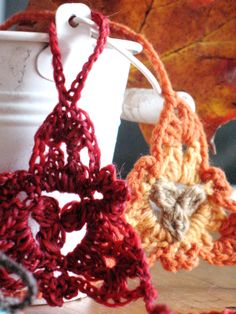 Wollspitze oder mein neuer Herbsthandschmuck | bennelle