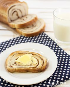 This cinnamon swirl bread is so delicious fresh or later as toast.