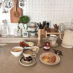 Studio Apt, Morning Food, Dream Life, Food Styling, Food Inspiration, Beige, Brown, Interior, Kitchen