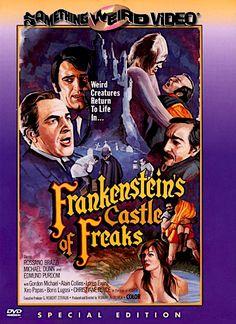 FRANKENSTEIN'S CASTLE OF FREAKS DVD (SOMETHING WEIRD)