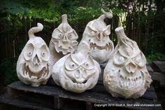 New Online Character Pumpkin Workshops this September.