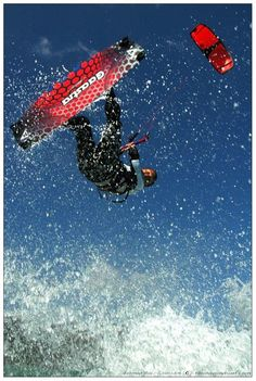 Kiteboarding in Langebaan, South Africa with Cape Sport Center www.dirtyboots.co.za