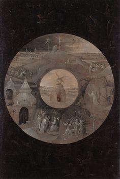 Scènes de la passion. Gemäldegalerie, Staatlichen Museen zu Berlin, Berlin.verso de saint jean evangeliste à patmos