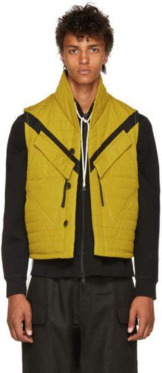 09ffbd8bc90 Abasi Rosborough Yellow Quilted Tactical Vest