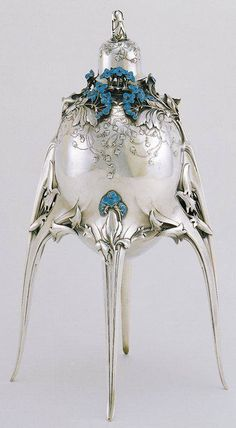 Caviar Server by Jules Auguste Habert-Dyes 1905