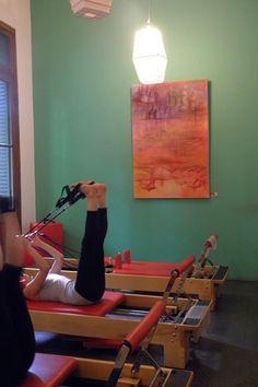 Color en la sala de Pilates