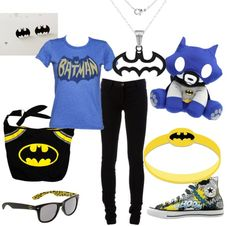 """Batman for my Daughter"" by vampwriter on Polyvore"