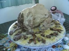 Whole roast camel ...