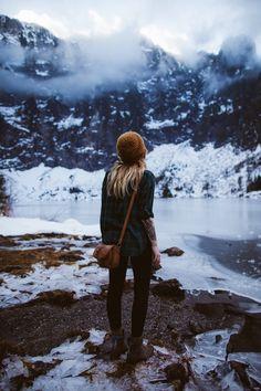 Recuerdo los inviernos en las montañas nevadas de mi niñez y adolescencia...
