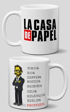 Caneca La casa de Papel Sister Gifts, Best Friend Gifts, Gifts For Friends, Gifts For Mom, Cerámica Ideas, Video Game Rooms, Cute Cups, Mug Printing, Posca