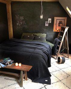 13 Amazing Industrial Master Bedroom Design Ideas - Home - Bedroom Ideas Industrial Bedroom Design, Interior Design Living Room, Master Bedroom Design, Home Bedroom, Bedroom Ideas, Master Bedrooms, Diy Zimmer, Loft Interiors, Home Design