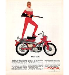 Honda Trail 90. Loaded.