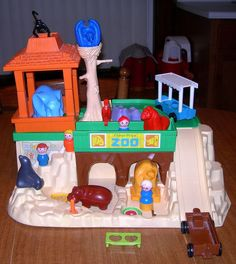 Fisher Price zoo. - Just unearthed ours from the closet to clean and store away. Great memories.