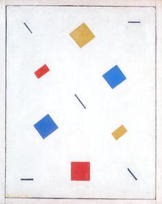 Bart van der Leck, 'Composition' 1918