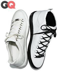 the best attitude 00866 1f00a De março da revista GQ tênis 1394221618819 designer 2014 sapatos da moda  projetos comuns prada 06 Balenciaga