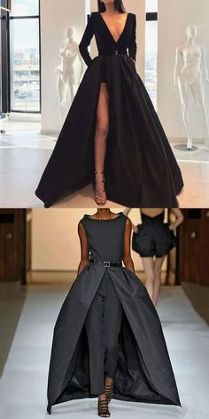 Black Style Dresses Black white grey color fashion style outfits for women, simple and comfortable dresses, tops and sw White Dresses For Women, Grey Dresses, Dresses Dresses, Sweater Dresses, Elegant Dresses, Beautiful Dresses, Casual Mode, Style Noir, Black Women Fashion