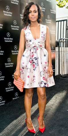 Kerry Washington in Stella McCartney.  She always looks fab and I love me some Scandal!