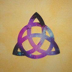 Triquetra Triade Hanging Triquetra Wall Amulet Wiccan