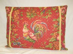 Waverly Pillow Cover French Country Saison de by BuffaloDesigns, $25.00