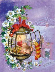 Giornata finita anche oggi...grazie al cielo!! con questa tenera immagine auguro dolce notte a tutti voi natalini☃☃☃☃☃☃☃☃☃ - Patrizia Belotti - Google+