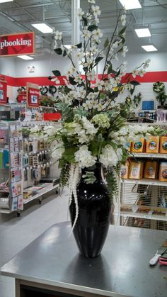 From work Church Flowers, Funeral Flowers, Fake Flowers, Artificial Flowers, Artificial Floral Arrangements, Fall Arrangements, Living Room Turquoise, Rose Thorns, Moving To Colorado