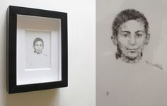 Frame, Home Decor, Pig Tails, Portraits, Picture Frame, Decoration Home, Room Decor, Frames, Hoop