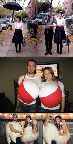 The 25 best couple costumes HALLOWEEN Man! I wanna go to a Halloween party! A costume party! Such fun ideas! Creative Costumes, Diy Costumes, Group Costumes, Teen Costumes, Woman Costumes, Pirate Costumes, Princess Costumes, Partner Costumes, Turtle Costumes