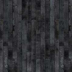 'PHM-35 Maarten Baas Burnt Wood Wallpaper by Piet Hein Eek. @2Modern'