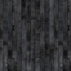 'PHM-35 Maarten Baas Burnt Wood Wallpaper by Piet Hein Eek. @2Modern'
