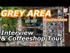 Take a look inside the famous Grey Area Coffeeshop in Amsterdam. Previously known as Blue Skies. Learn about their marijuana menu, operations, and more. Blue Skies, Coffee Shop, Amsterdam, Interview, Menu, Tours, Sky, Coffee Shops, Menu Board Design