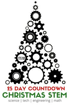 Christmas STEM countdown activities for kids. A fun and easy to set up Christmas countdown calendar for families to try this holiday season. Christmas science experiments and STEM ideas that are frugal to set up and encourage hands on learning. Our Christmas STEM projects are also great for classroom use too.