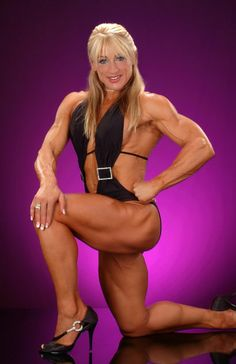 image Frida palmell female bodybuilder vw car ad commercial